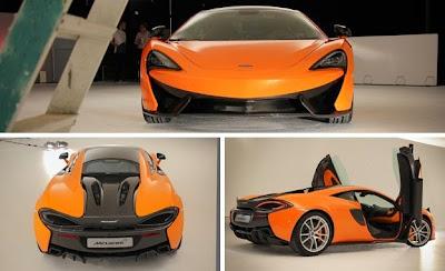 2016 McLaren 570S Exterior