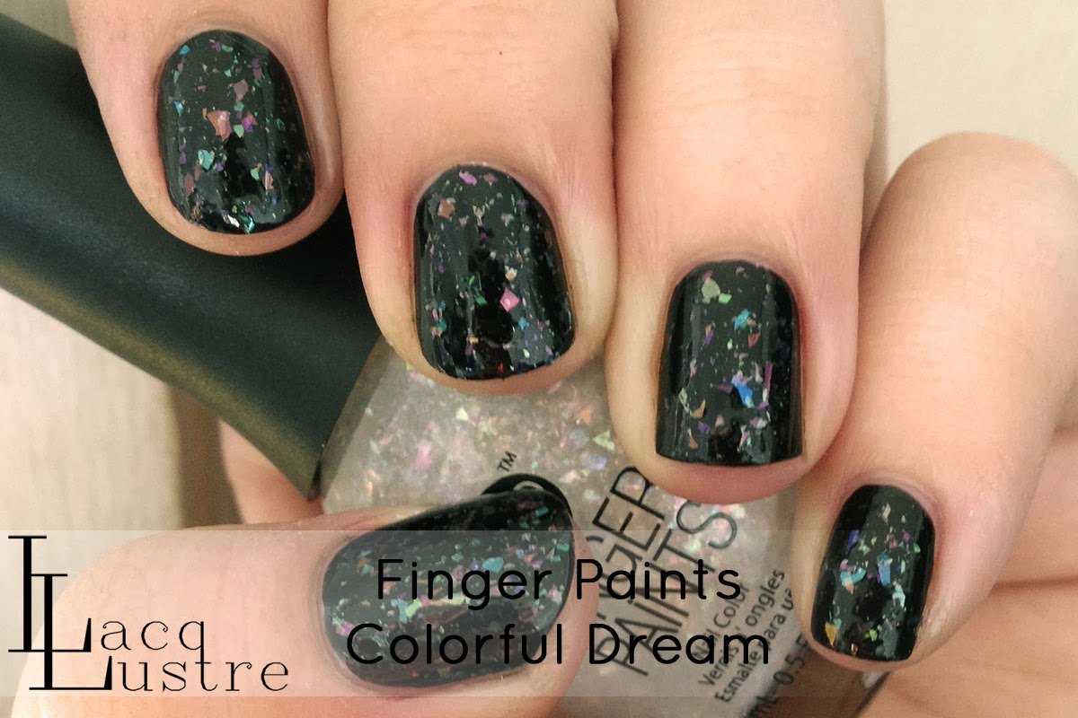 Finger Paints Colorful Dream swatch