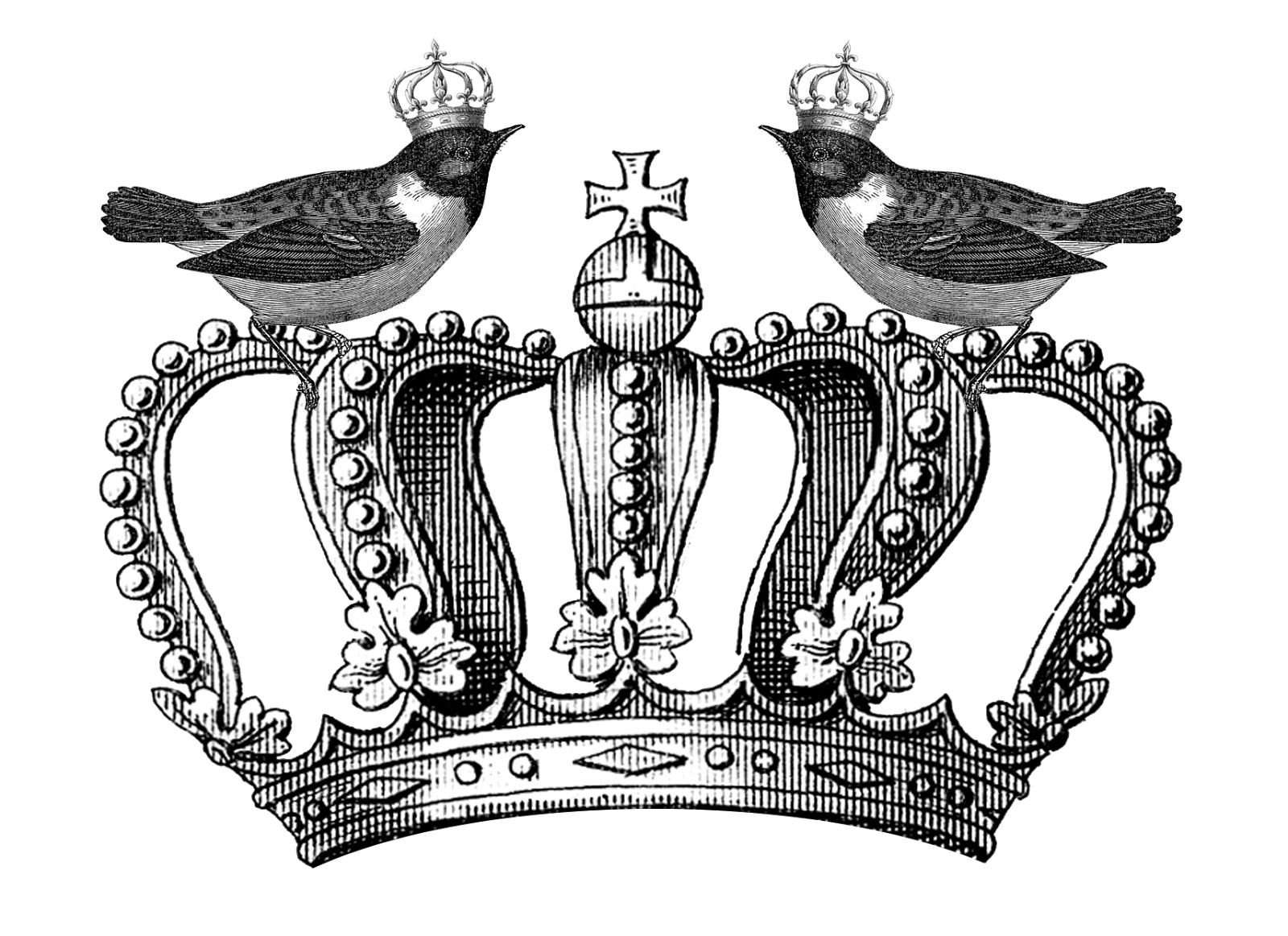 Queen Crown Drawing 50 digital downloads aQueen Crown Drawing Black And White