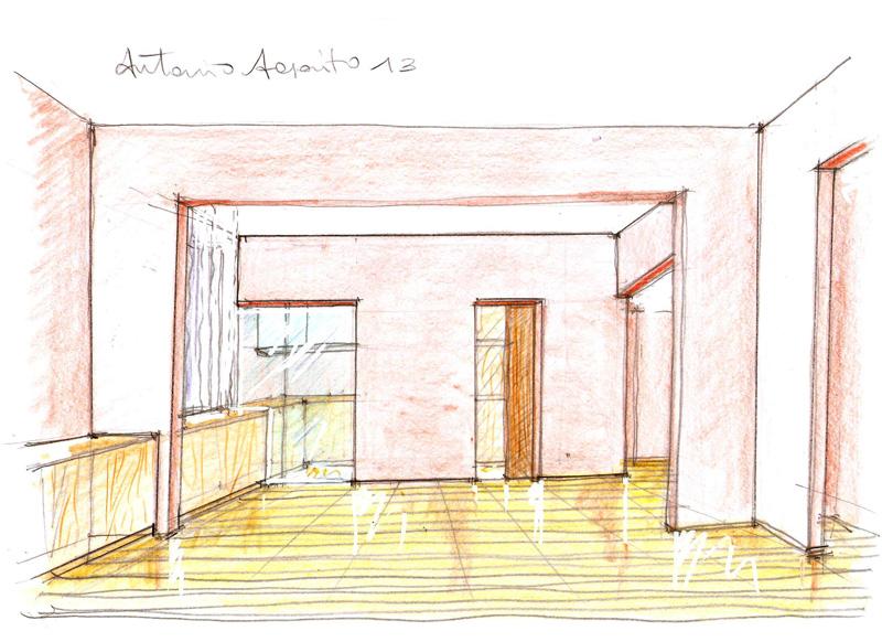 Vent 39 anni di disegni dell 39 arch antonio saporito disegni for Stima sulla costruzione di una casa con 3 camere da letto