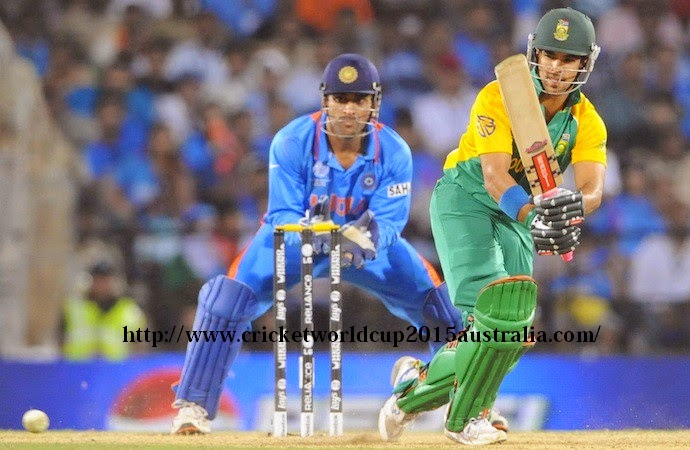 India vs south africa world cup 2015 22 feb