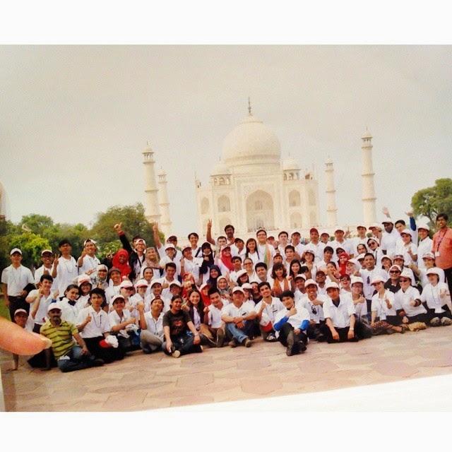 ASEAN Student Visit India adalah BONUS dari Allah