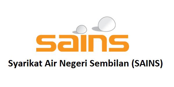 Jawatan Kerja Kosong Syarikat Air Negeri Sembilan (SAINS) logo www.ohjob.info februari 2015