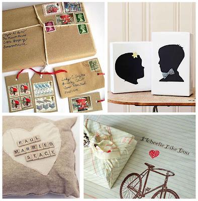 Simply Fun Stuff: Creative Wedding Gift Wrap Ideas