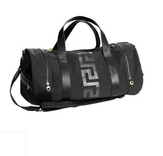 Black Versace Holdall, Versace Cruise Collection for Men, H & M