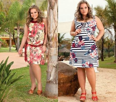 Moda Verão Feminina 2014 plus size