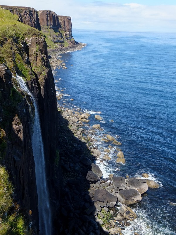 écosse scotland skye kilt rock cascade