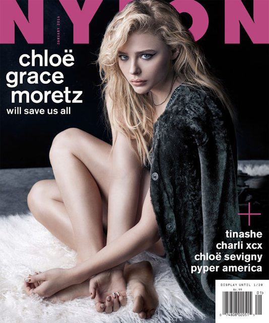 Actress, Model @ Chloë Grace Moretz - Nylon Magazine, December 2015