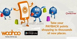 WooHoo Free Reward Points worth Rs. 200