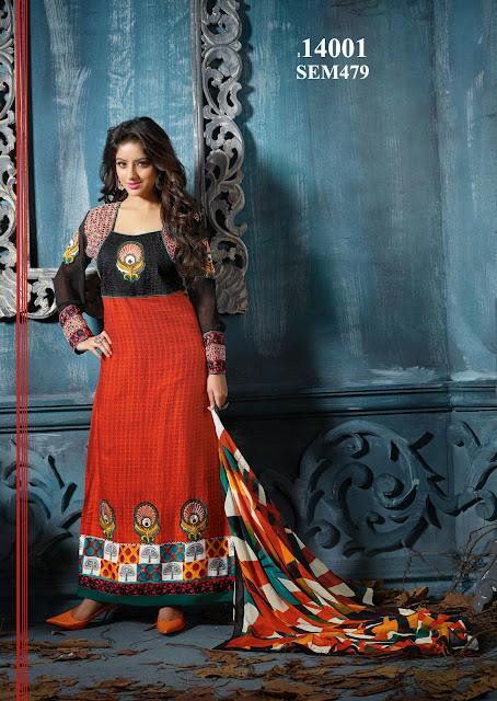 Deepika Singh In Embroidered Long Salwar Kameez