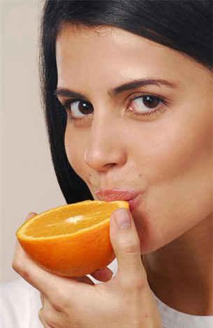 consumir laranja