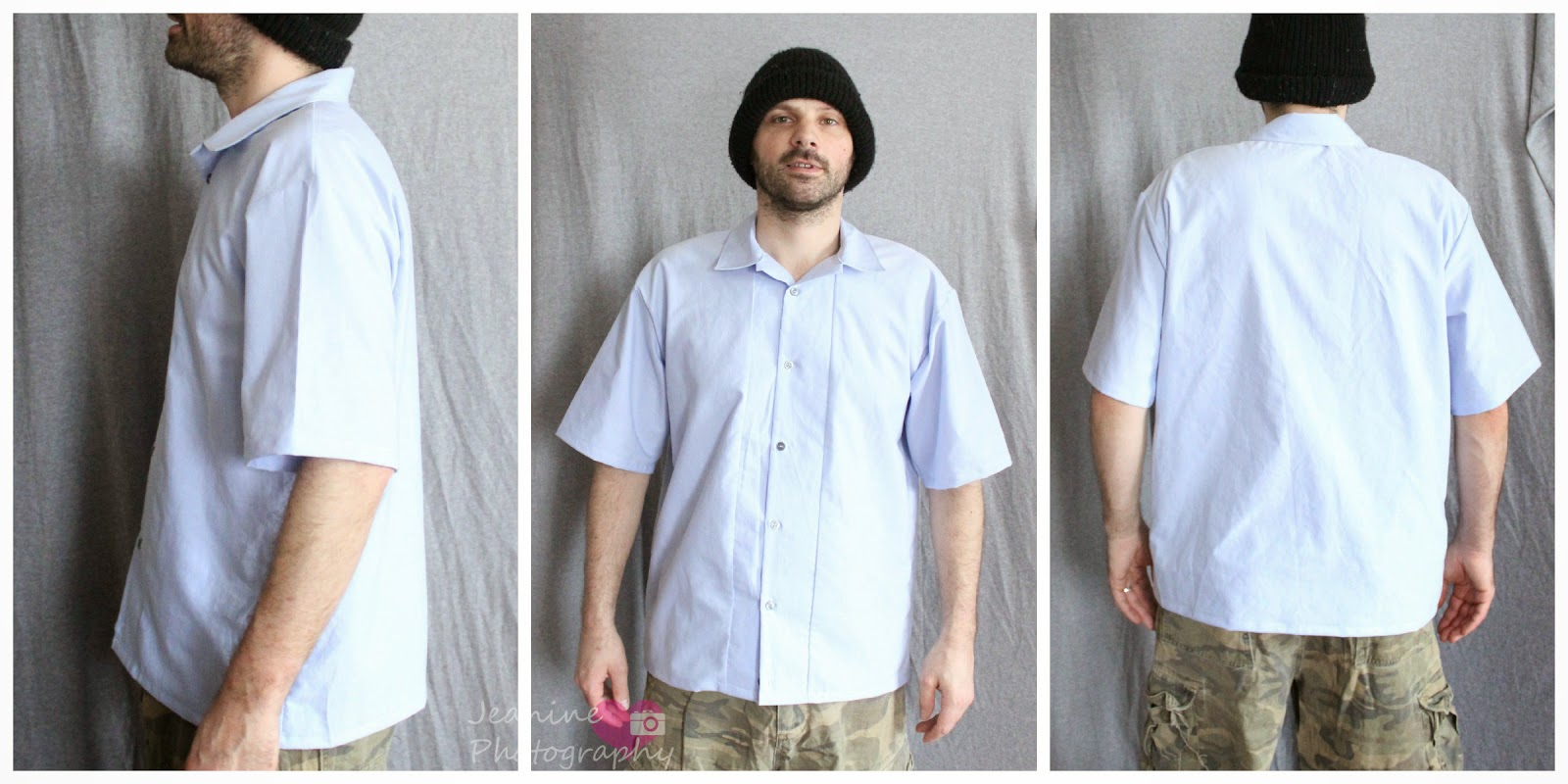 The scientific seamstress new pattern introducing the mens cathys husband in his tropical style shirt jeuxipadfo Images