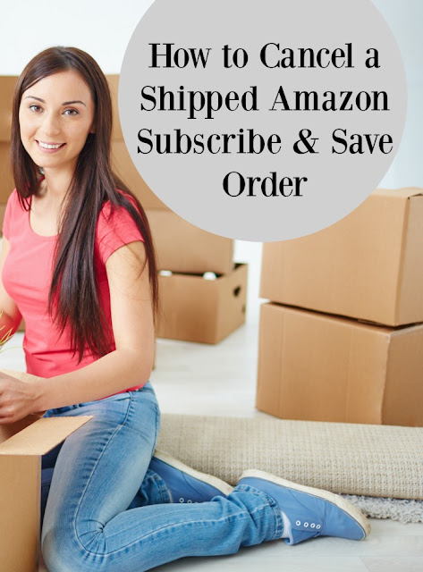 Can you Cancel an Amazon Subscribe and Save Order After It's Shipped?