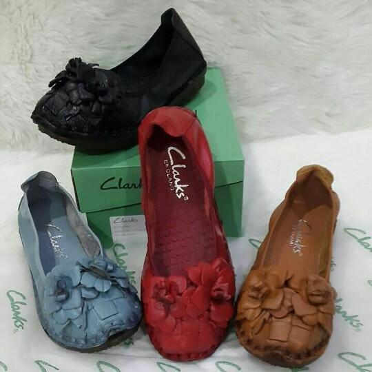 Jual sepatu wanita Clarks model terbaru dengan harga murah 138f052696