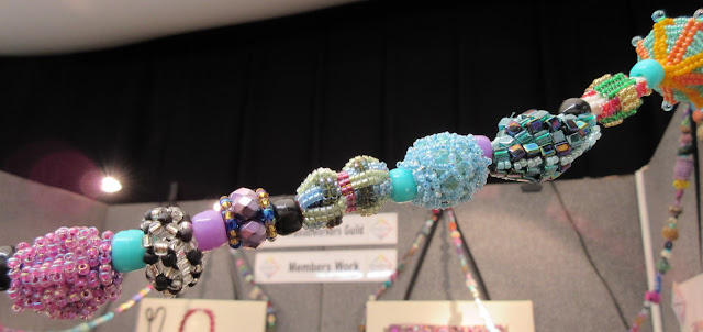 Beadworkers Guild - Knitting and Stitching Show