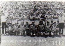 Campeão Estadual em 1982