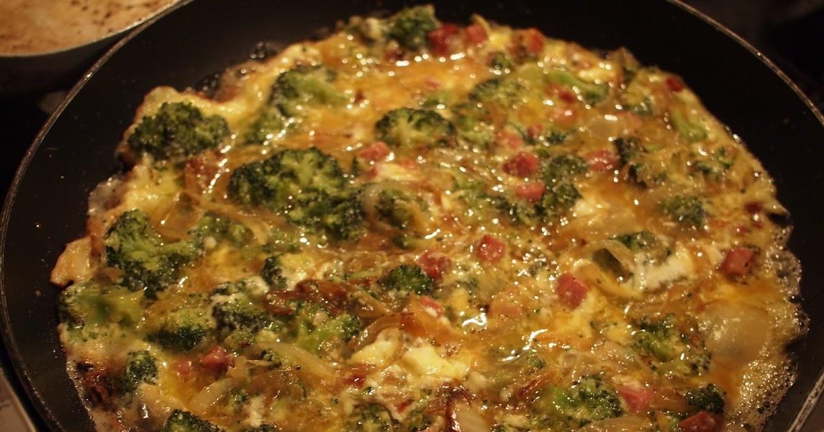 Cucinare per amore naturalmente frittata con i broccoli for Cucinare per 40 persone