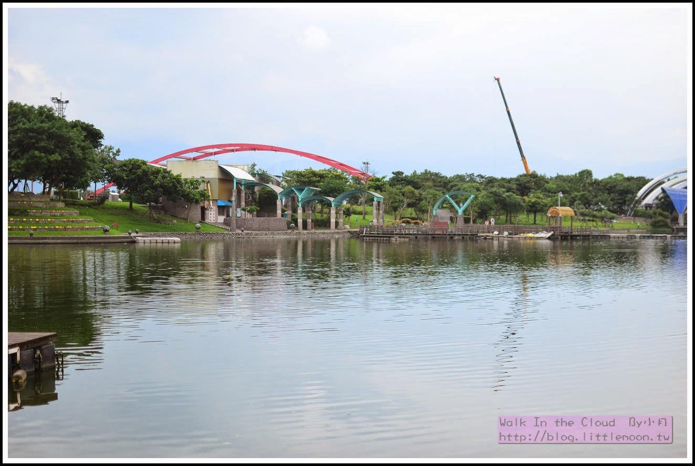 親水公園的碼頭