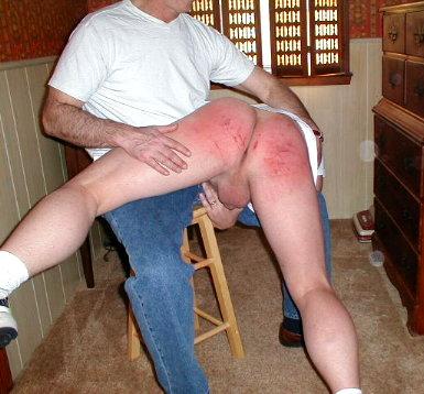 Boys spanked by daddy