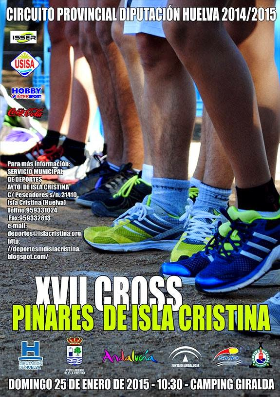 XVII CROSS PINARES DE ISLA CRISTINA