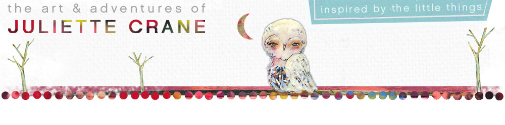 Whimsical Owls and Other Mixed Media Art From the Heart by Juliette Crane