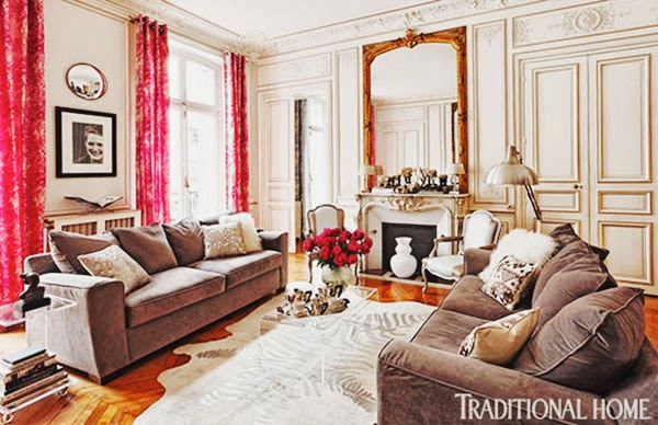 this is glamorous decor inspiration colorful and romantic
