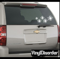 turtle family car decal