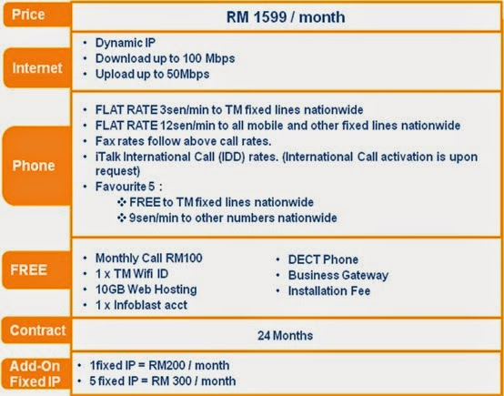 UniFi BIZ 100Mbps (Dual Play) Is Now Available Nationwide