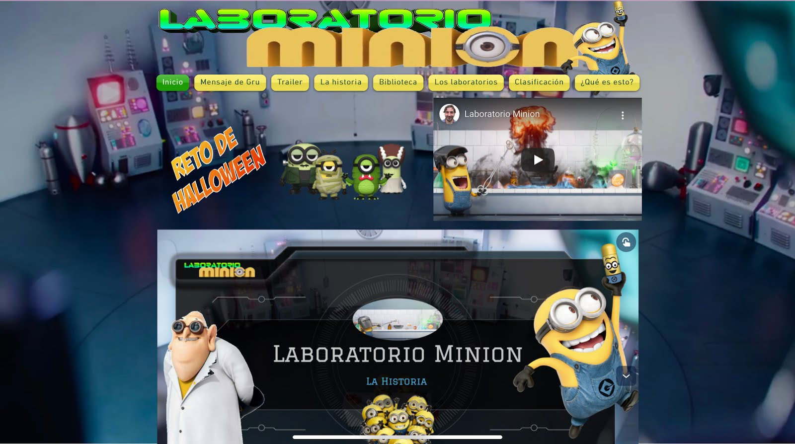 LABORATORIO MINION