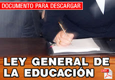 LEY GENERAL DE EDUCACIN