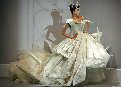 Your wedding support a w 2011 wedding dress trends for John galliano wedding dress