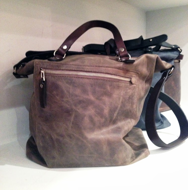 M0851 Fall leather tote bag
