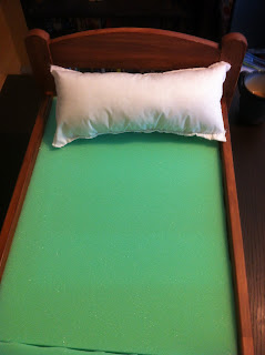 foam mattress toy polyfil pillow
