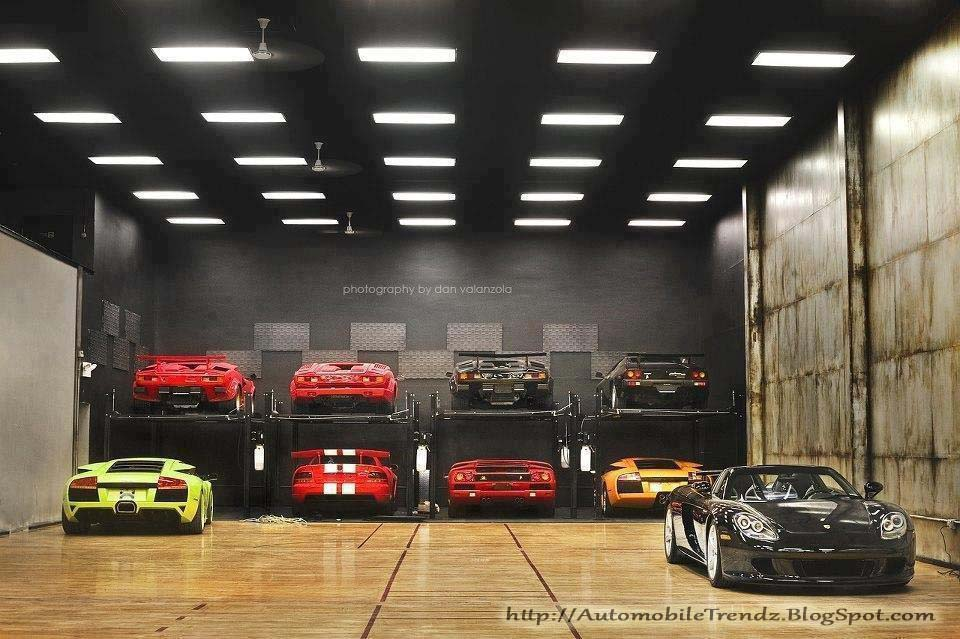 Nice Cars With Personal Garages : Automobile trendz awesome garage