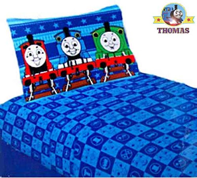 Fantastic cheap modern home furnishings kit Percy James and Thomas the train bed merchandise sheets