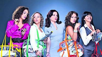 Cinco viudas sueltas capítulo 11 telenovela colombiana