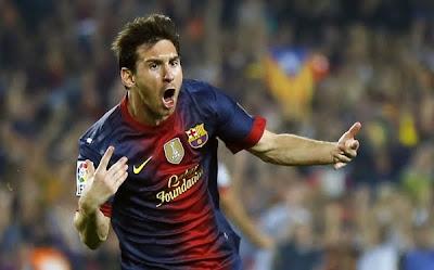 Messi, el máximo goleador de un año calendario