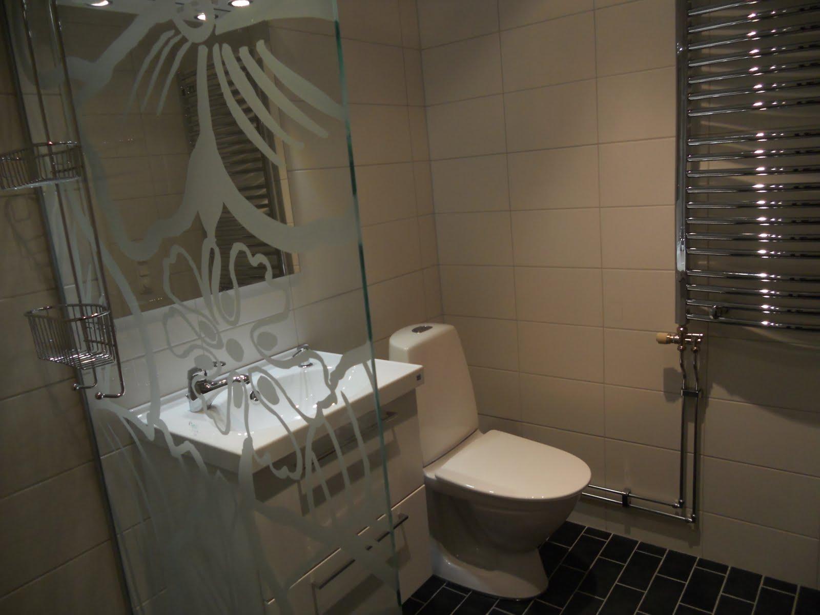 En jordemors liv och lustar: Äntligen nytt badrum!