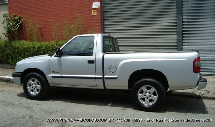 Chevrolet S-10 Cabine Simples 2003 usada - lateral
