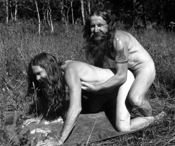 Hairy hippie fucked share your