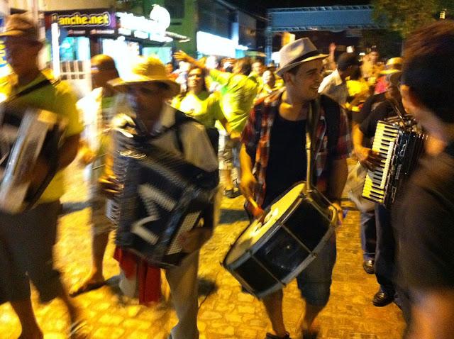 Bloco de forró em Pernambuco/Foto:Marcelo Migliaccio
