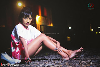 Popular model Sachi wickramasinghe