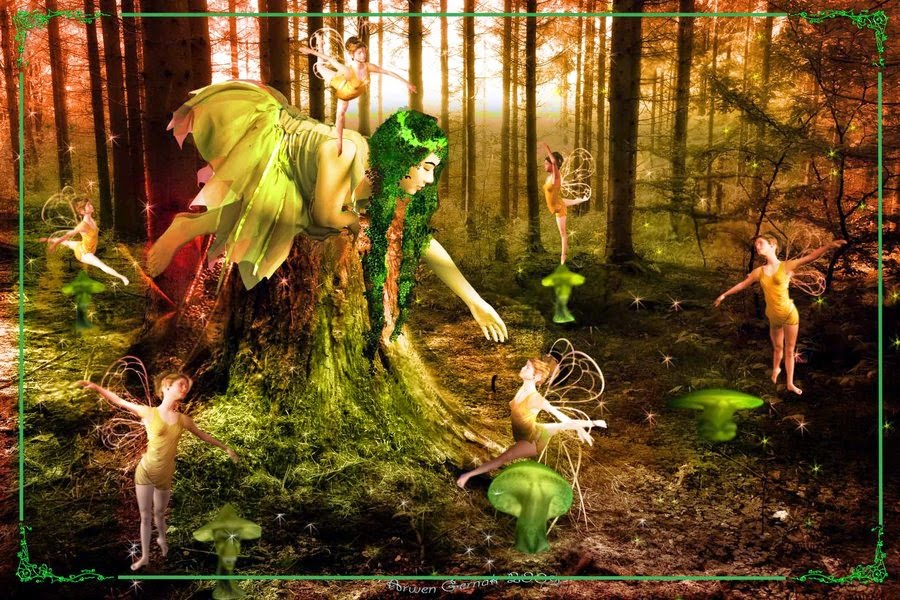 Fairies: Image by ArwenGernak | Deviantart