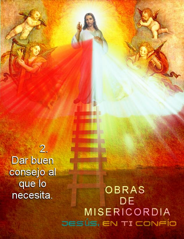 obra de misericordia dar un consejo sabio de dios