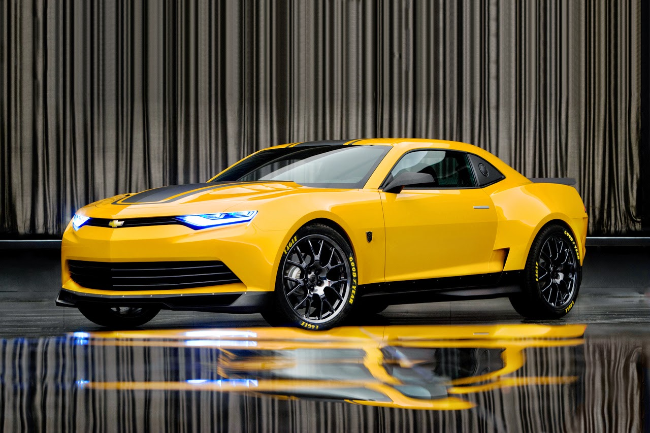 Bumblebee Chevrolet camaro is new transformer 4s 2014