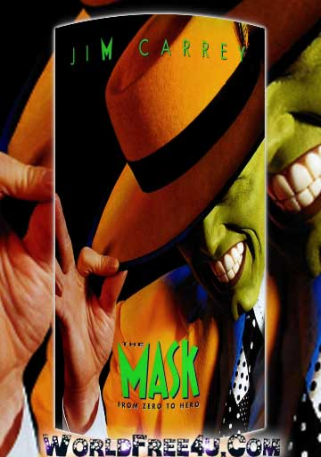Poster Of The Mask (1994) Full Movie Hindi Dubbed Free Download Watch Online At worldfree4u.com