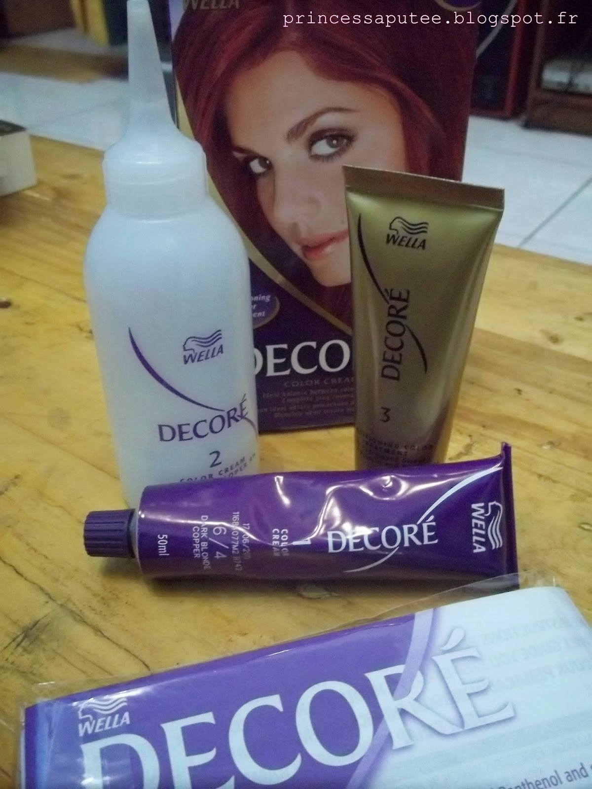 Hey Oneesan Review Wella New Decore Color Cream 6 4 Dark