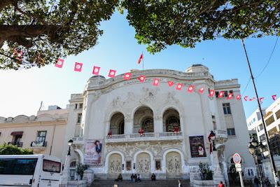 突尼西亞, tunisia, tunis, 突尼斯,  Theatre Municipal de la Ville de Tunis