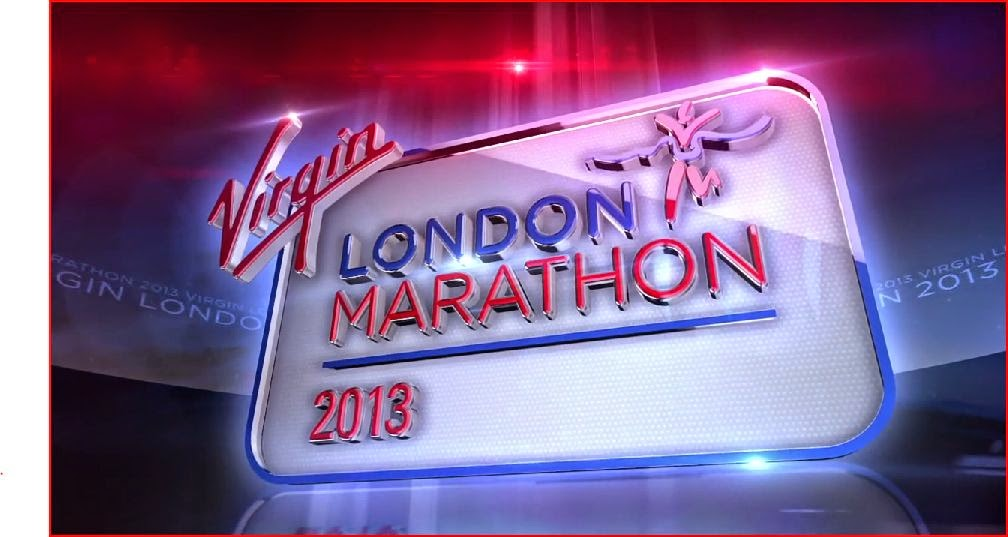 Virgin London Marathon logo animatedfilmreviews.filminspector.com