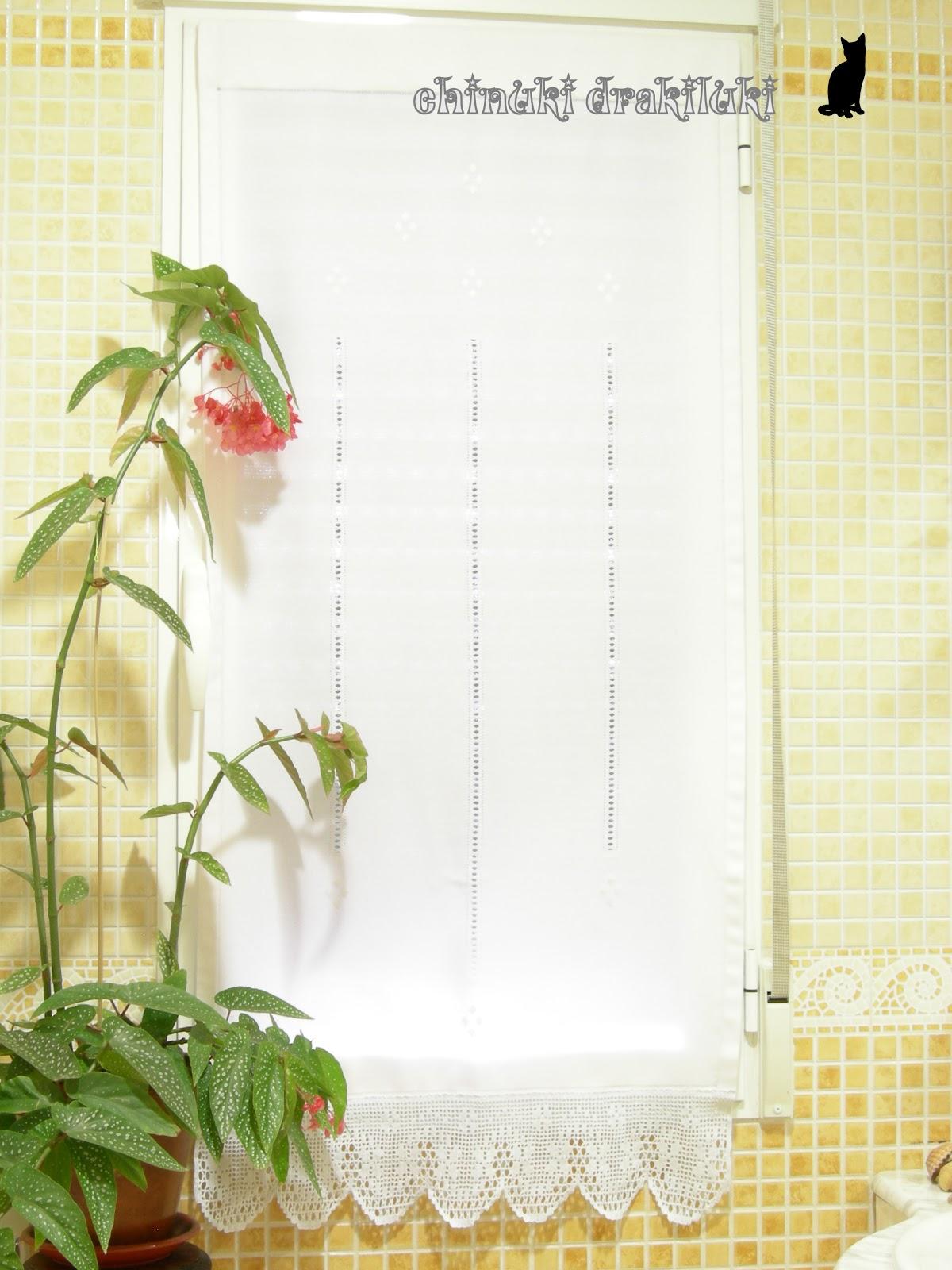 Cortinas De Baño Bordadas:el diario del chinuki drakiluki: Cortina de baño elegante